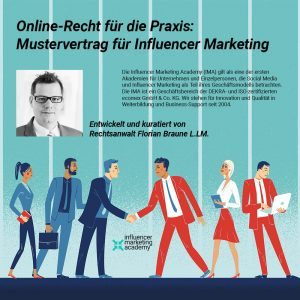 Mustervertrag Influencer Marketing