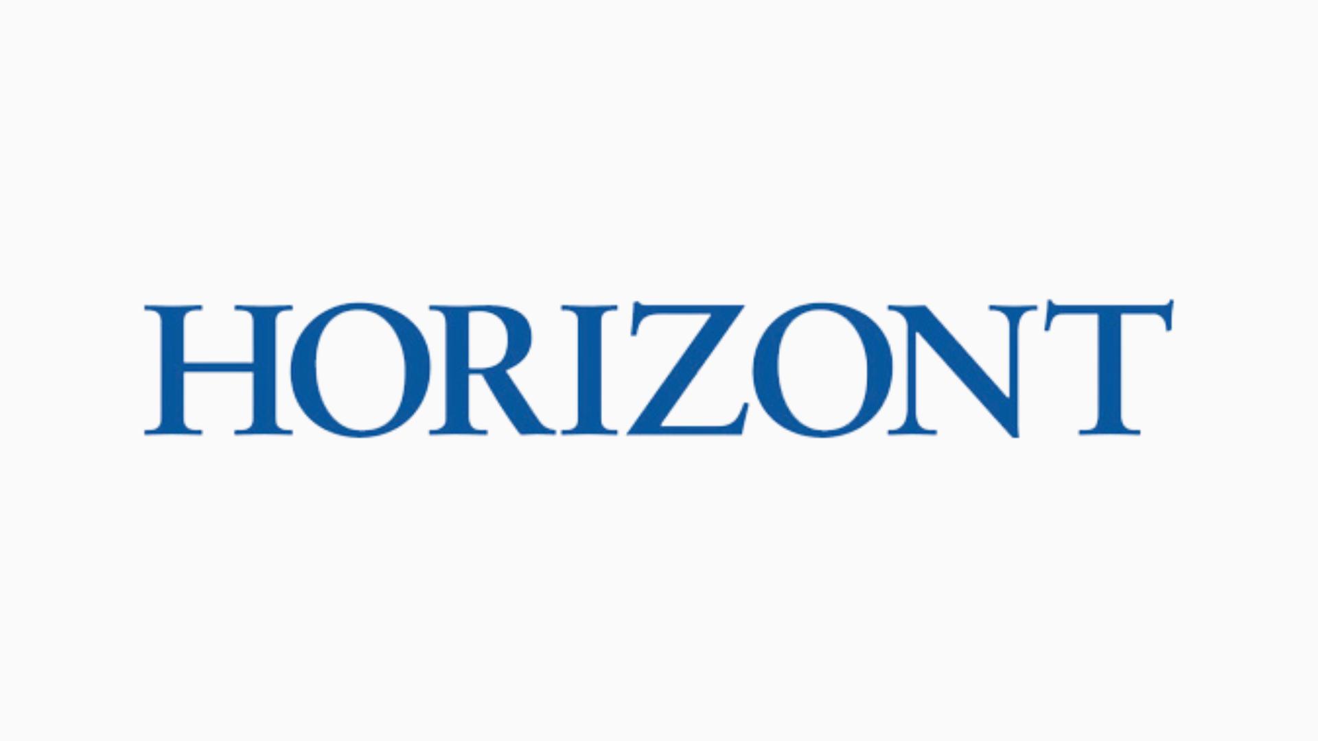 HORIZONT - Zeitung für Medien, Werbung und Wirtschaft - Logo